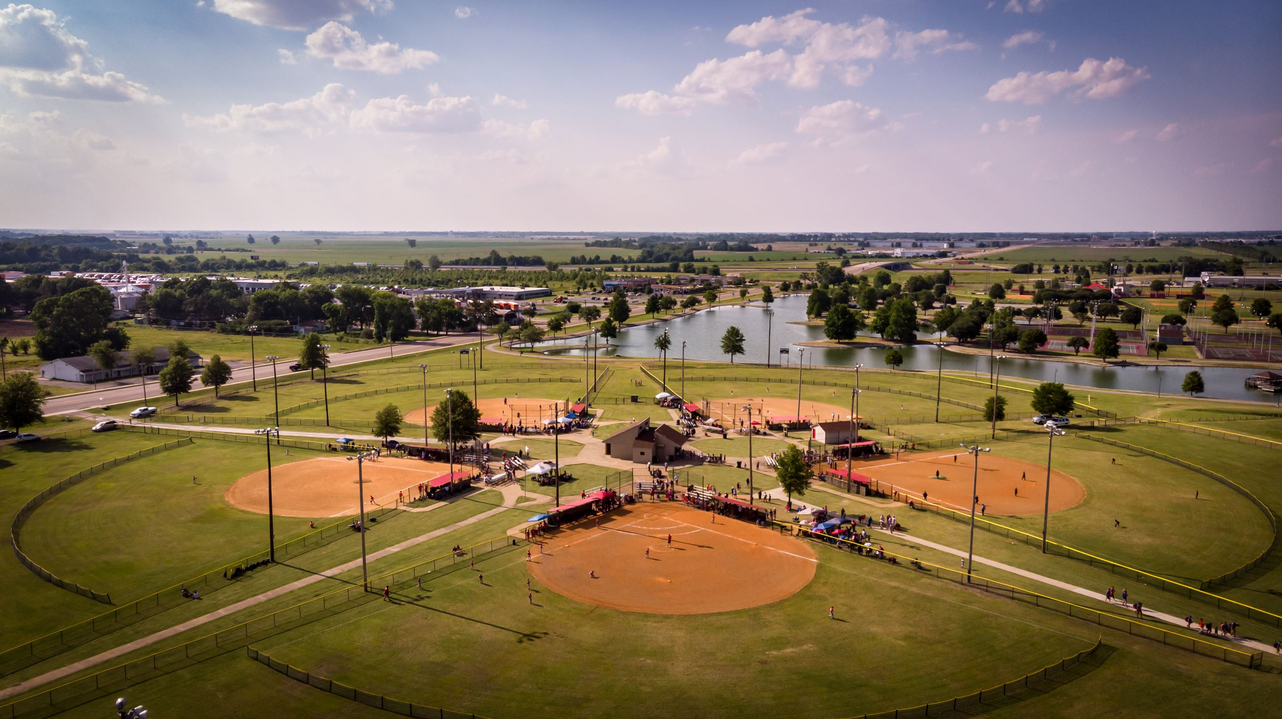 Tilden Rodgers Park Baseball Complex West Memphis Arkansas 2