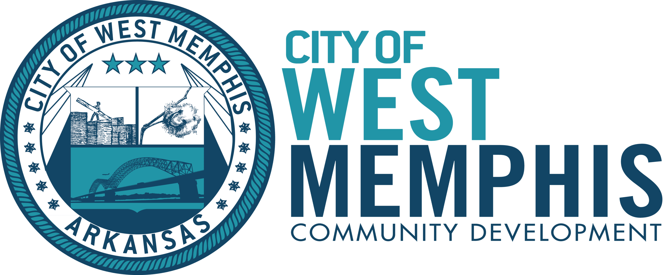 West Memphis COMMUNITY and Development logo
